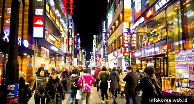 Tempat Belanja Terkenal Di Seoul