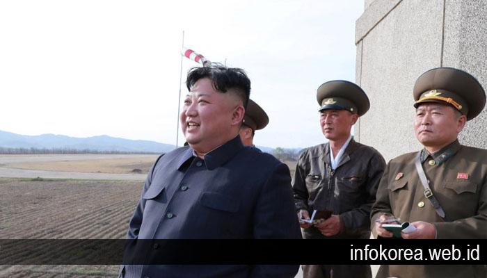 Peluncuran Rudal Korut adalah Peringatan bagi Korea Selatan Kata Kim Jong Un