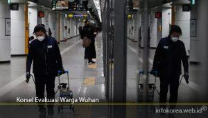 Korsel Evakuasi Warga Wuhan