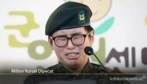 Militer Korsel Dipecat