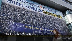 Pemimpin Sekte Korea Selatan