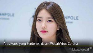 Artis Korea yang Berdonasi dalam Wabah Virus Corona