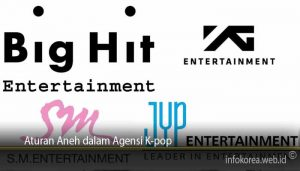 Aturan Aneh dalam Agensi K-pop